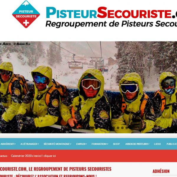 Site Pisteur Secouriste